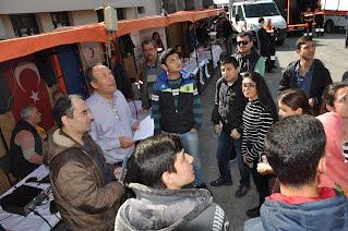 Atatürk Mesleki ve Teknik Anadolu Lisesi. öğrencileri ile birlikte